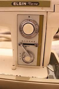 M U00e1quina De Costura Elgin Zig Zag Super Antiga