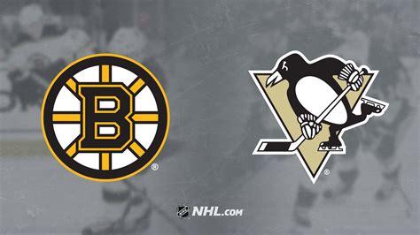 Craig smith shot blocked by brian dumoulin. Bruins vs. Penguins | NHL.com