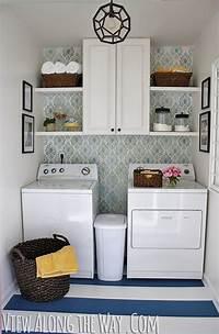 small laundry room ideas Small Laundry Room Ideas - White Way