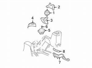 Buick Rainier Engine Mount Heat Shield  4 2 Liter