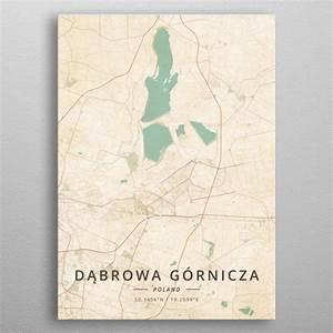 Dabrowa Gornicza Poland By Designermap Art