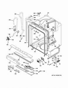 Ge Gdt625psj2ss Dishwasher Parts