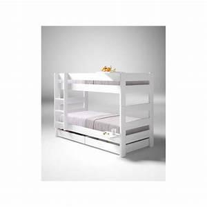 Lit Mi Hauteur Avec Rangement : lit mi hauteur pas cher maison design ~ Premium-room.com Idées de Décoration