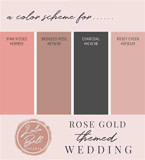 Pink Rose Gold Glitter and Sparkle Wedding Collection #