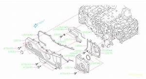 Subaru Forester Engine Timing Cover Gasket  Right