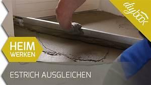 Fußboden Ausgleichen Granulat : boden ausgleichen unebenen estrich spachteln youtube ~ A.2002-acura-tl-radio.info Haus und Dekorationen