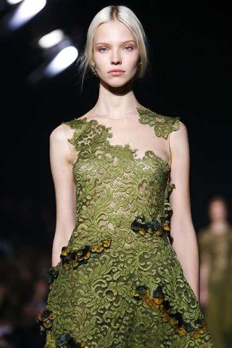 Sasha Luss in Alberta Ferretti A/W 14 Detail Fashion