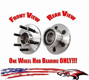 Front Wheel Hub Bearing Assembly For Dodge Dakota 1999