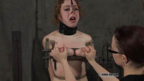 Submissive Girlfriends Strapon Fuck By Violated