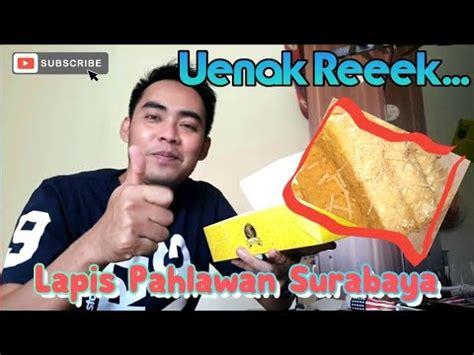 Selain lapis kukus pahlawan, ada satu lagi merek kue lapis legit yang populer sebagai oleh oleh khas surabaya, yaitu spikoe resep kuno. Kue Lapis Surabaya Ny Hartono - Resep Nusantara