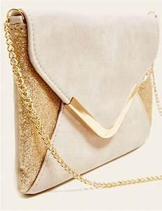 Sac A Main Nude : sac pas cher sac main femme pochette femme jennyfer ~ Teatrodelosmanantiales.com Idées de Décoration