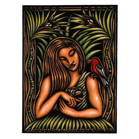 The Romance of Lauka'ie'ie, giclée Print by Caren Loebel ...