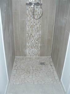 beautiful petite salle de bain avec douche italienne With modeles de salle de bains avec douche