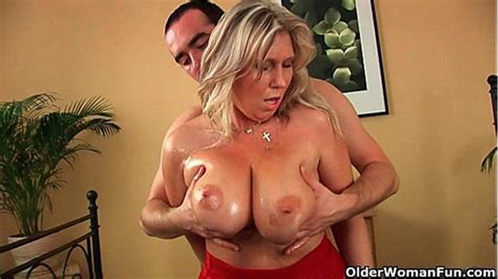#Older #Woman #With #Natural #Big #Tits #Gets #Fucked