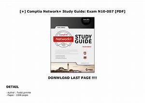 Comptia Network  Study Guide  Exam N10