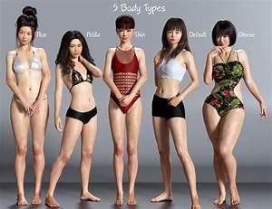 East Asian Women  U0026quot Obese U0026quot  Body Type