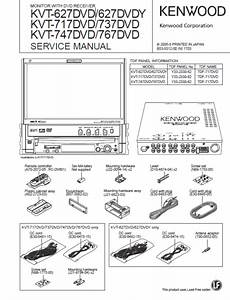 Kenwood Kvt 627dvd Wiring Diagram