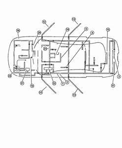 2004 Chrysler 300 Wiring  Sunroof  Trim   All Trim Codes