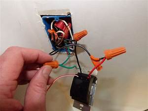 Install Dimmer Switch  Single