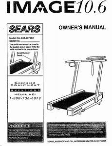Image 831297562 User Manual 10 6 Treadmill Manuals And