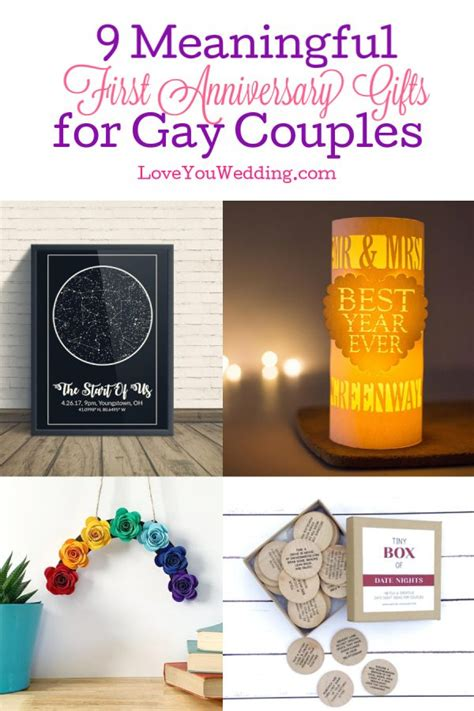 9 Amazing First Anniversary Gifts forCouples That Are