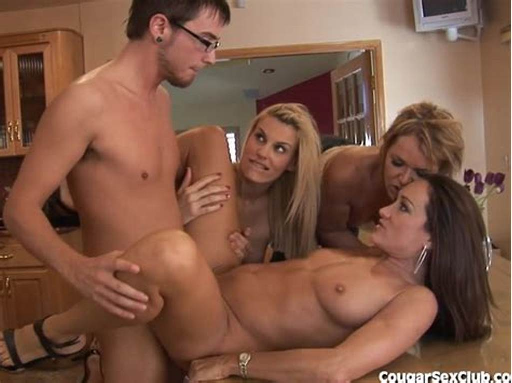 #Lucky #Guy #Gets #Laid #By #3 #Horny #Milfs