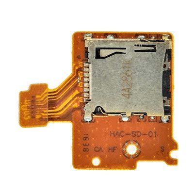For those of you getting to the point where your initial storage is filling was this uncommon knowledge? Nintendo Switch Micro SD Card Reader Slot Flex Replacement HAC-SD-01 HAC-001 | eBay