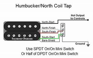 Guitar Coil Tap Wiring Diagrams
