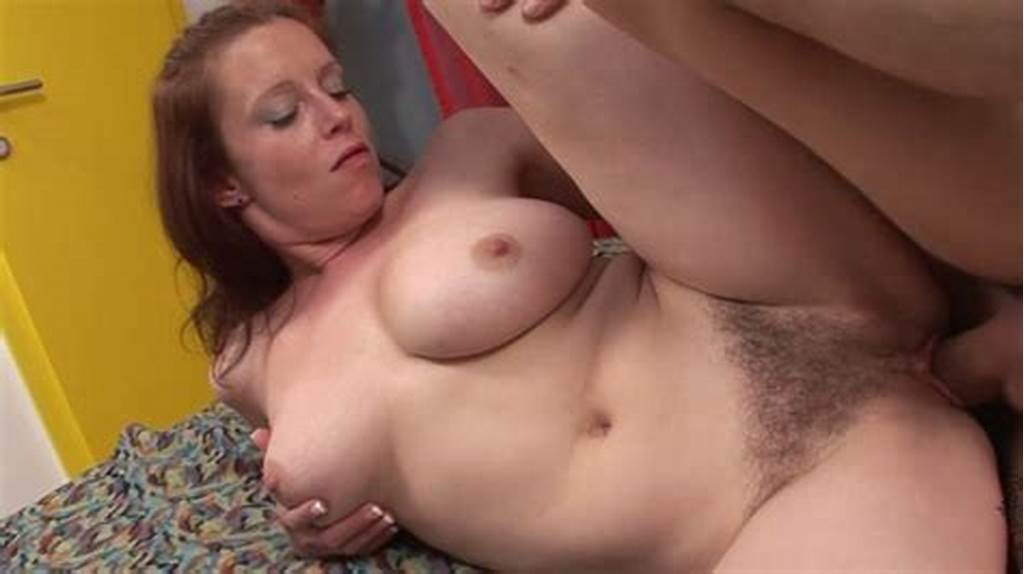 #Chubby #Redhead #With #Droopy #Tits #Carol #Gets #Her #Hairy #Kitty