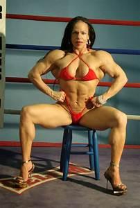 Ana Claudia Pires Is A Brazilian Female Bodybuilder