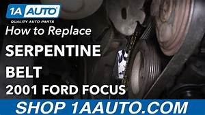 How To Replace Serpentine Belt 00
