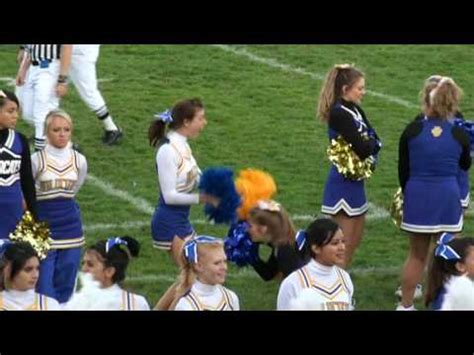 cheerleader  hit   head   football youtube