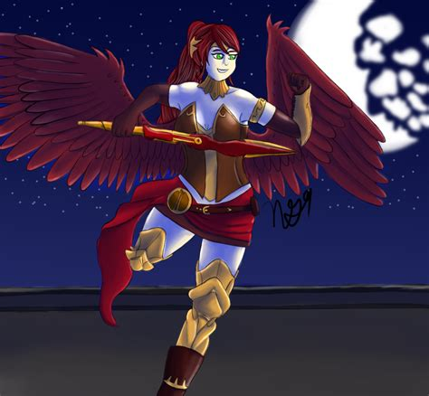 foto de Wing Wednesday 6 Pyrrha Nikos by NewGhost9 on DeviantArt