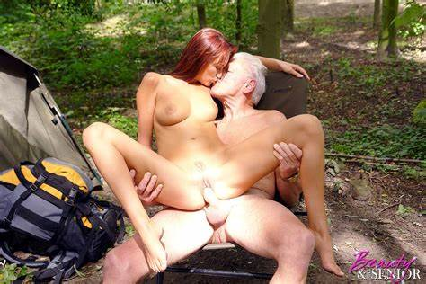 Curvy Grandpa Seduced Own Man Curly Gal Hot Crave A Wealthy Senior On Camping