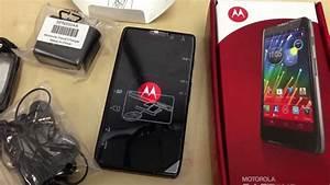 Motorola Razr HD LTE (XT925) - Unboxing (droid razr) - YouTube