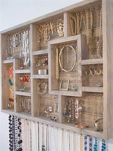 Idée De Rangement : 27 id es de rangement pour vos bijoux chasseurs d 39 astuces ~ Preciouscoupons.com Idées de Décoration