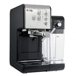 This espresso maker is not for people wanting a machine with more nuts and bolts. Mr. Coffee One-Touch CoffeeHouse Review + Comaparison with Cafe Barista