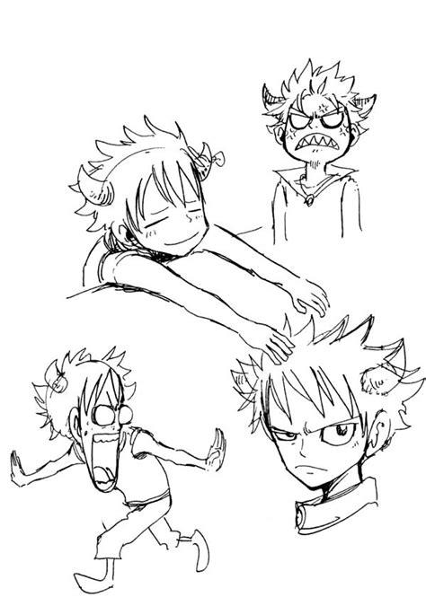 Fairy Tail Karakterleri'nin İlk Çizimleri Animeler NET