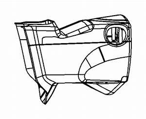 Dodge Grand Caravan Steering Column Cover  Upper