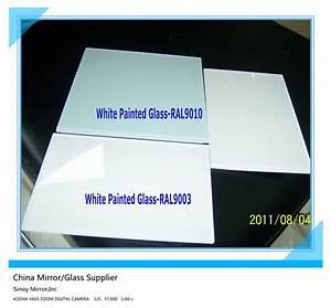 Ral 9010 Vs 9016 : china decorative white painted glass ral9010 ral9003 ~ A.2002-acura-tl-radio.info Haus und Dekorationen