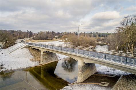 Fotoreportāža: Rendā pēc pārbūves atklāts tilts pār Abavu - Latvijas Valsts Ceļi
