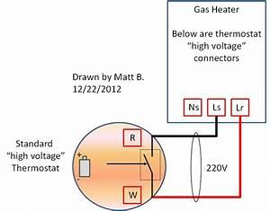 Wiring Diagram 220 Volt Thermostat  U2013 Powerking Co