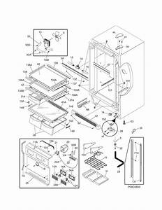 Kenmore Elite 25344723100 Refrigerator Parts