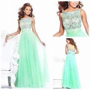 vente de perles vert a line robes de bal hot cap robe de With vente de robe de soirée