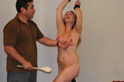 Spanking Bizarre Czech Bsdm Wooden Tool Spanking And Corporal Punishment Of Redhead