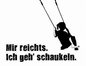 Ich Gehe Schaukeln : spruch postkarte schaukel druck ~ A.2002-acura-tl-radio.info Haus und Dekorationen