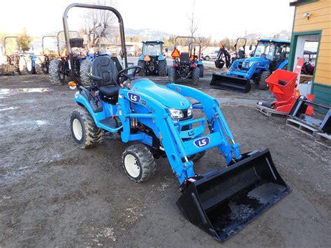 Fleischmann plan v 942 + 888. LS Model MT125 HST Tractor & Loader, 24.7 HP Diesel Engine, 4WD, Hydrostatic Transmission