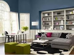 Living Room Paint Colors For A Small Living Room Living Room Paint Living Room Design Ideas And How To Use Color To Tie An Entire Room Minimalist Living Room Wall Paint Color Paint Color Ideas For Living Room Accent Wall