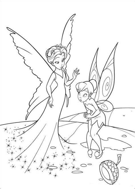 coloring page Tinkerbell Tinkerbell Tinkerbell
