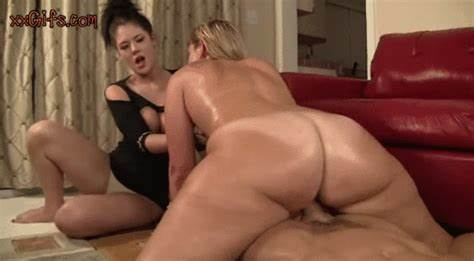 Bigass Babysitter Bounces On Passion Dick